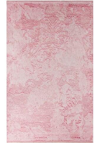 Sehrazat Teppich »Majestik 1500«, rechteckig, 5 mm Höhe, Kurzflor mit Fransen, Wohnzimmer kaufen
