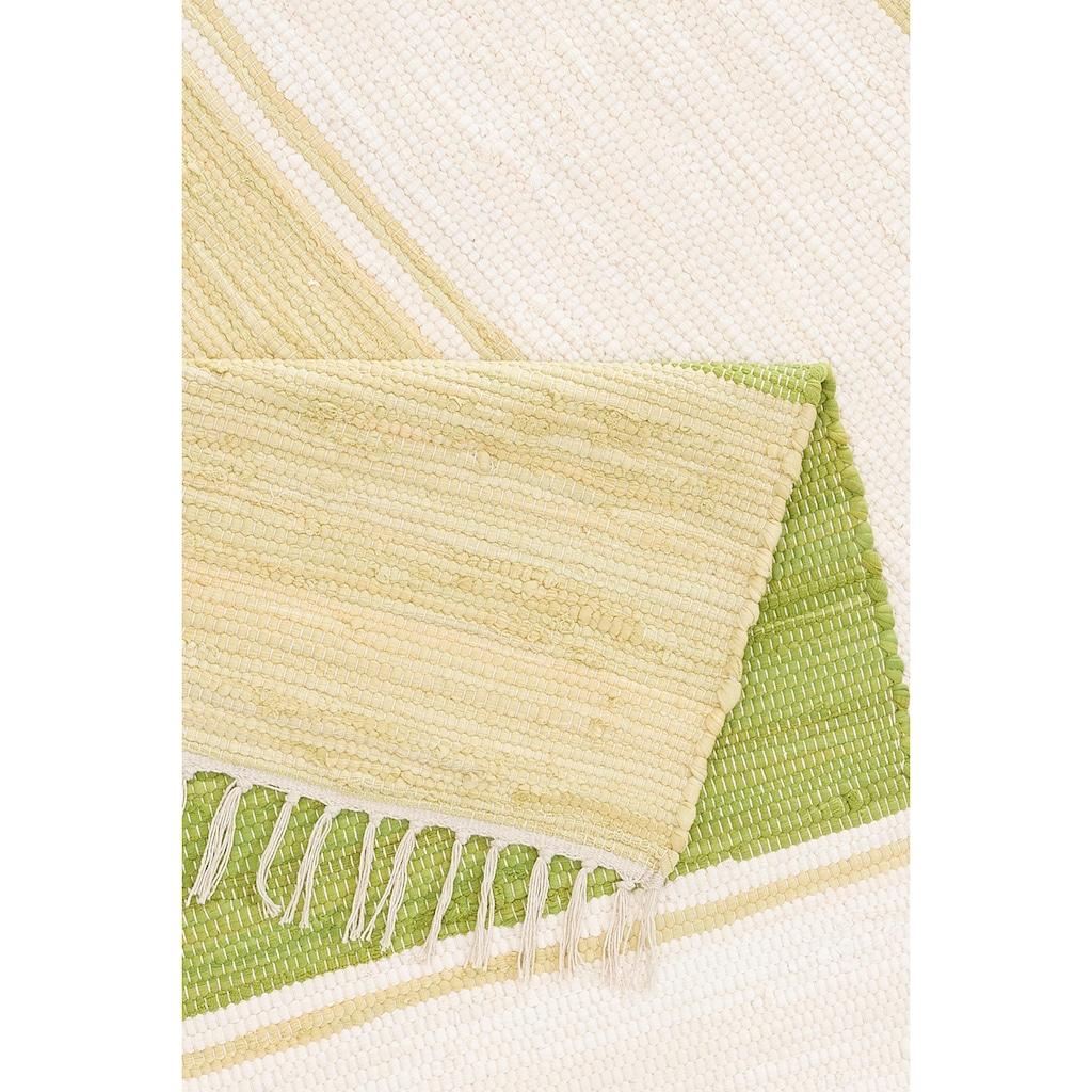 andas Teppich »Melina«, rechteckig, 5 mm Höhe, handgewebt, waschbar bei 30 Grad, Wohnzimmer