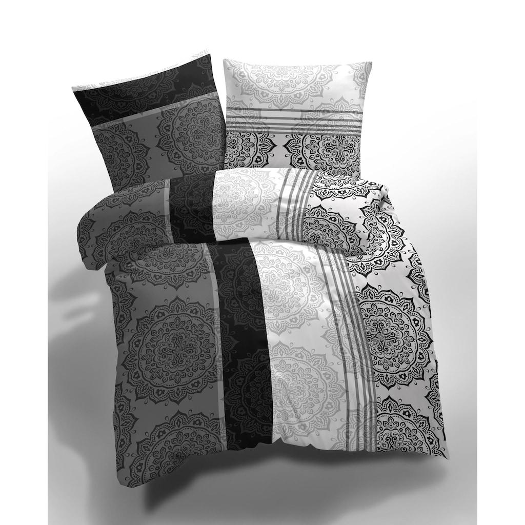 Bettwäsche »6-teiliges Set, Adorno, Microfaser«