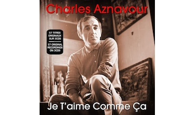 Musik-CD »Je t'aime comme ca / Aznavour,Charles« kaufen