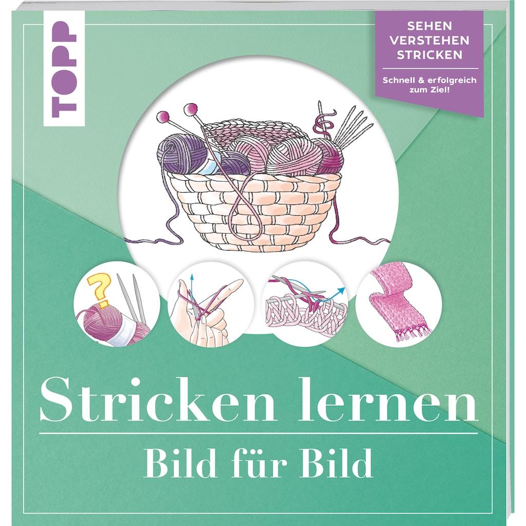 Buch »Stricken lernen Bild für Bild / Frechverlag«