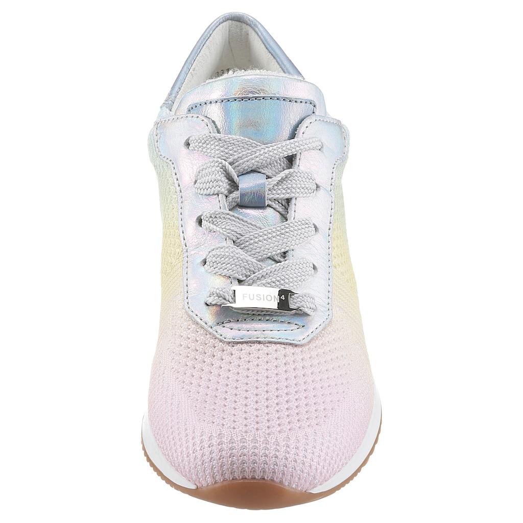Ara Sneaker »Lissabon«, mit pastellfarbenem Farbverlauf