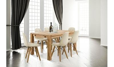 Home affaire Essgruppe »Tim«, (Set, 7 tlg.), bestehend aus 6 Stühlen und einem... kaufen