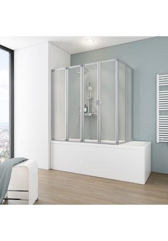 SCHULTE Badewannenaufsatz 6 - tlg., Einfach ohne Bohren kaufen