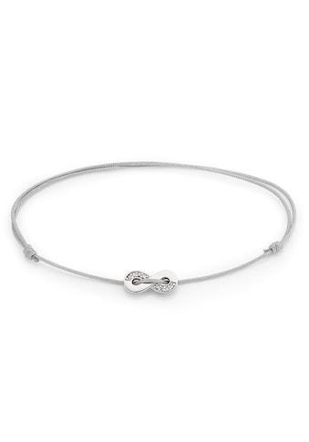 Bruno Banani Armband »Infinity/Unendlichkeitsschleife, B00 62B/90/03«, mit Zirkonia kaufen