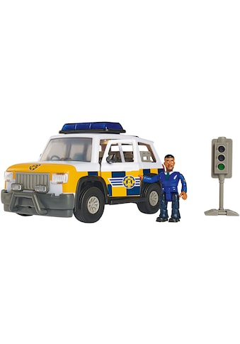 SIMBA Spielzeug-Auto »Feuerwehrmann Sam, Polizeiauto 4x4 mit Figur«, mit Licht und... kaufen