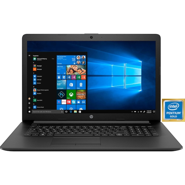 HP 17-by0233ng Notebook (43,9 cm / 17,3 Zoll, Intel,Pentium Gold, 512 GB SSD)