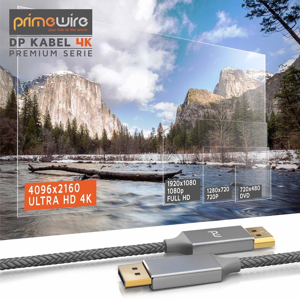 Primewire DisplayPort auf DisplayPort Monitorkabel