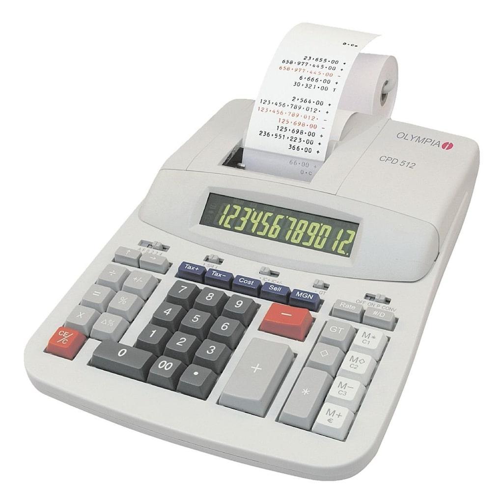 OLYMPIA OFFICE Druckender Tischrechner