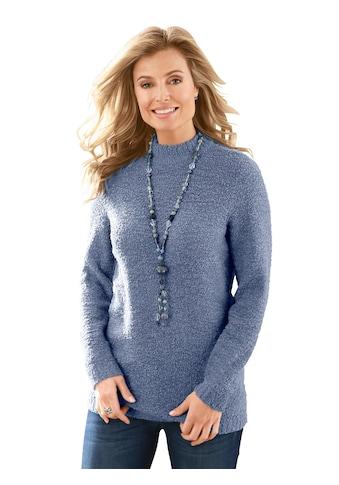 Classic Basics Pullover in Bouclé - Qualität kaufen