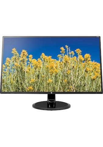 "HP LED-Monitor »27y«, 68,6 cm/27 "", 1920 x 1080 px, Full HD, 5 ms Reaktionszeit, 60 Hz kaufen"