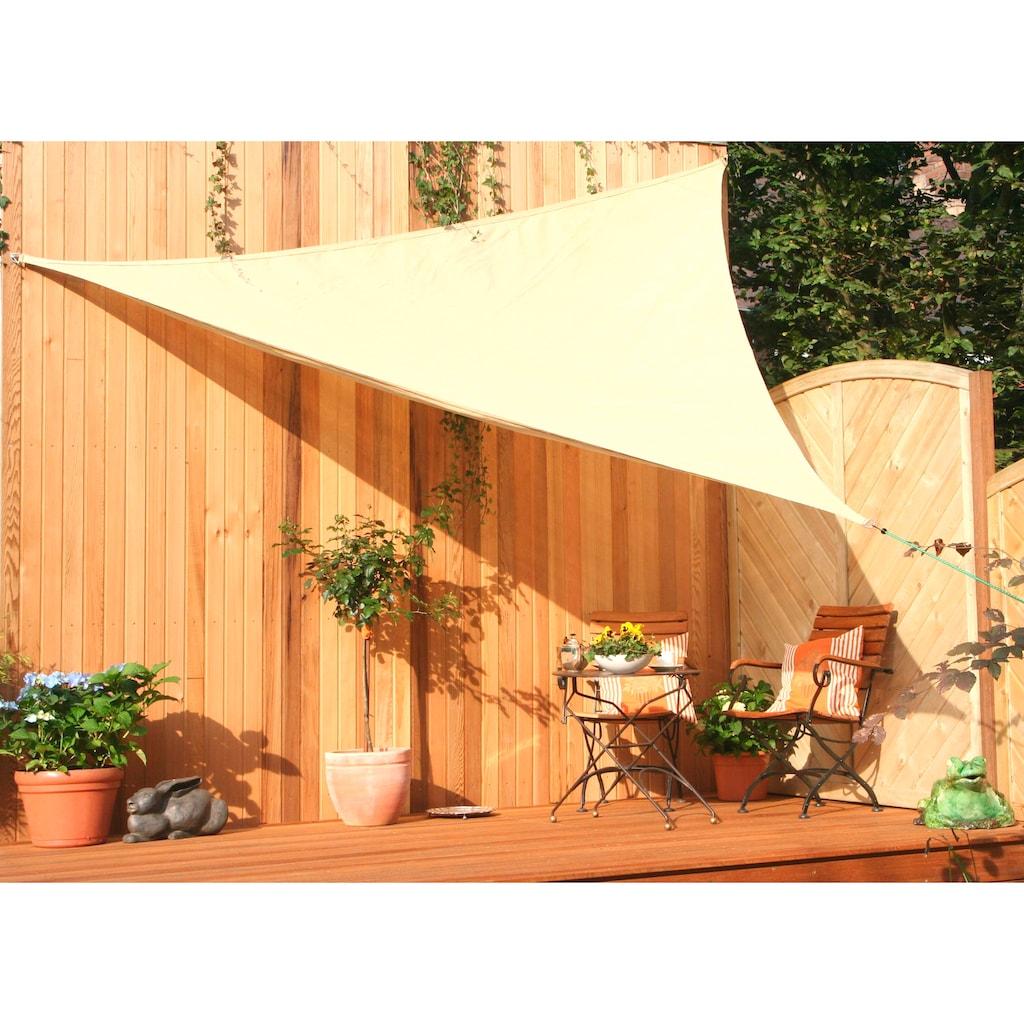 Floracord Sonnensegel, Schenkellänge: 500 cm