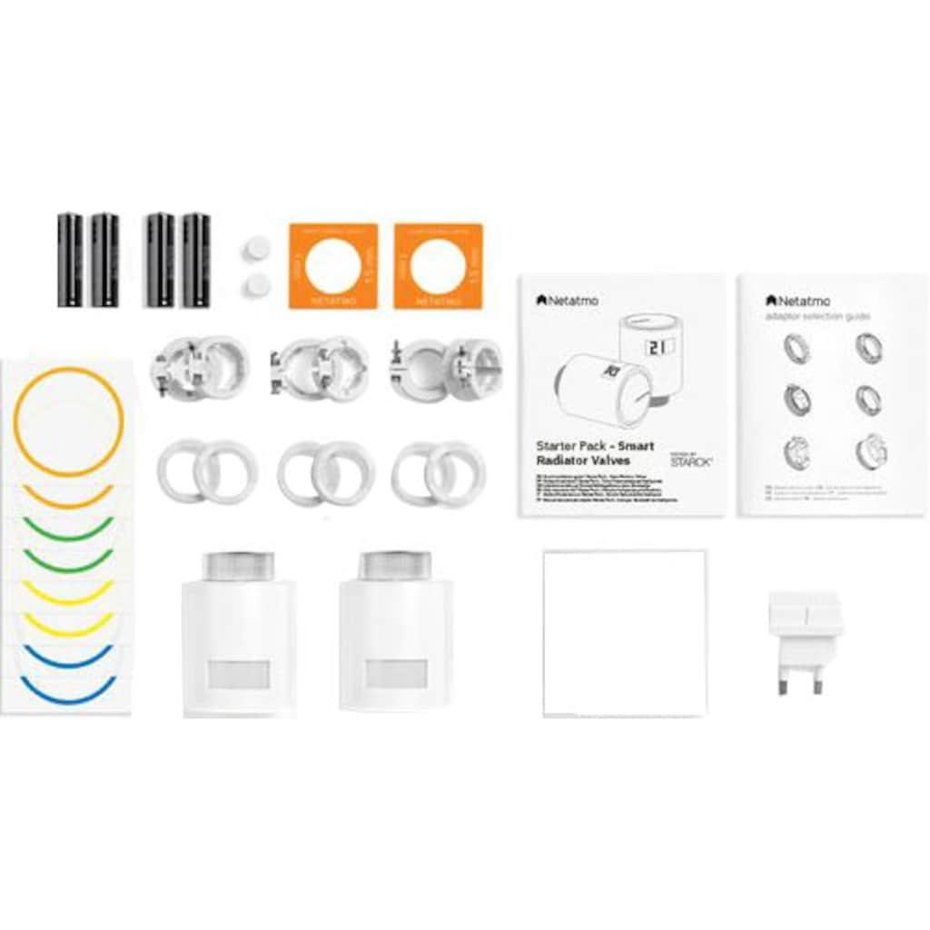 Netatmo Heizkörperthermostat »Starterpaket«