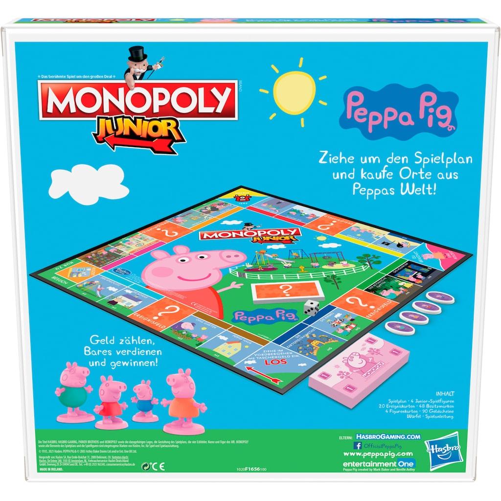 Hasbro Spiel »Kinderspiel, »Monopoly Junior: Peppa Pig««