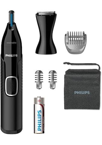 Philips Nasen- und Ohrhaartrimmer »NT5650/16«, 3 Aufsätze, ultimativer Komfort ohne... kaufen