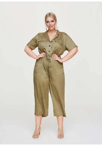 Rock Your Curves by Angelina K. Jumpsuit, im Utility-Style kaufen