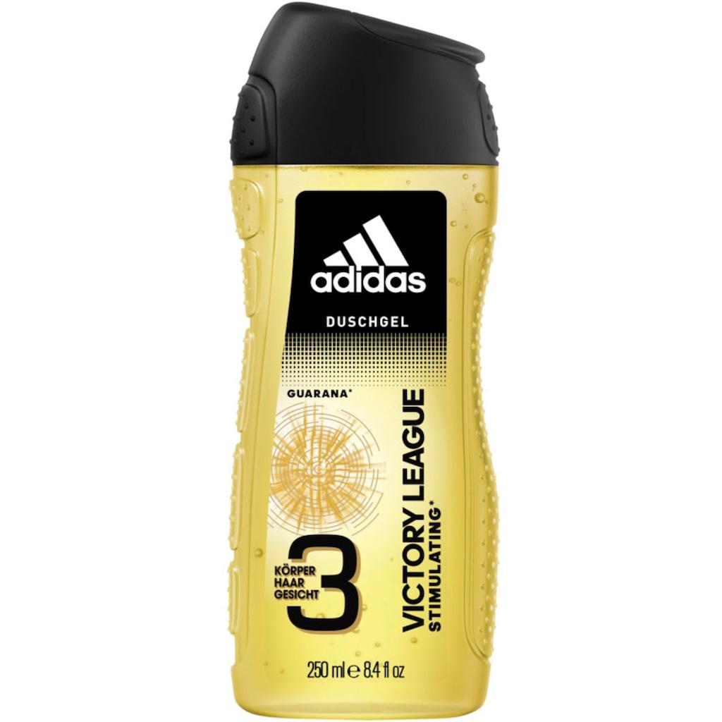 adidas Performance Duschgel »Victory League 3in1«, (Spar-Set, 6 tlg.), für Männer