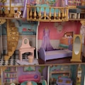KidKraft® Puppenhaus »Zauberschloss mit Wintergarten«, mit Licht und Sound