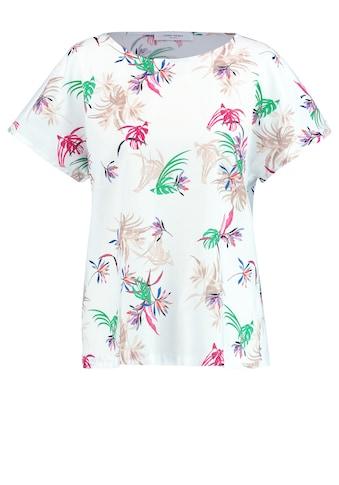 GERRY WEBER Bluse 1/2 Arm »Blusenshirt mit Dschungelprint« kaufen