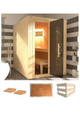 WEKA Sauna »Kaarina 1«, 154x194x199 cm, ohne Ofen kaufen