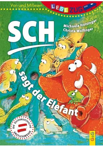 Buch »LESEZUG/Vor-und Mitlesen: Sch, sagt der Elefant / Michaela Holzinger, Lisa Manneh« kaufen