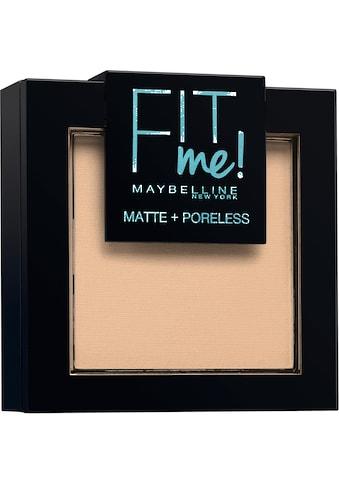 MAYBELLINE NEW YORK Puder »FIT ME Matte & Poreless« kaufen