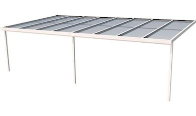 GUTTA Terrassendach »Premium«, BxT: 813x406 cm, Dach Sicherheitsglas klar kaufen