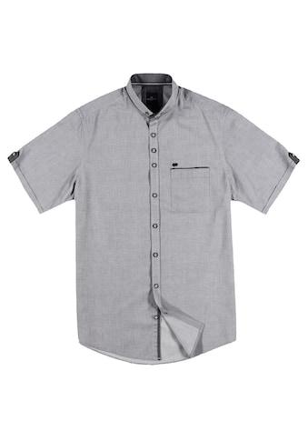 Engbers Unifarbenes Kurzarmhemd mit stylischen Kontrastdetails kaufen