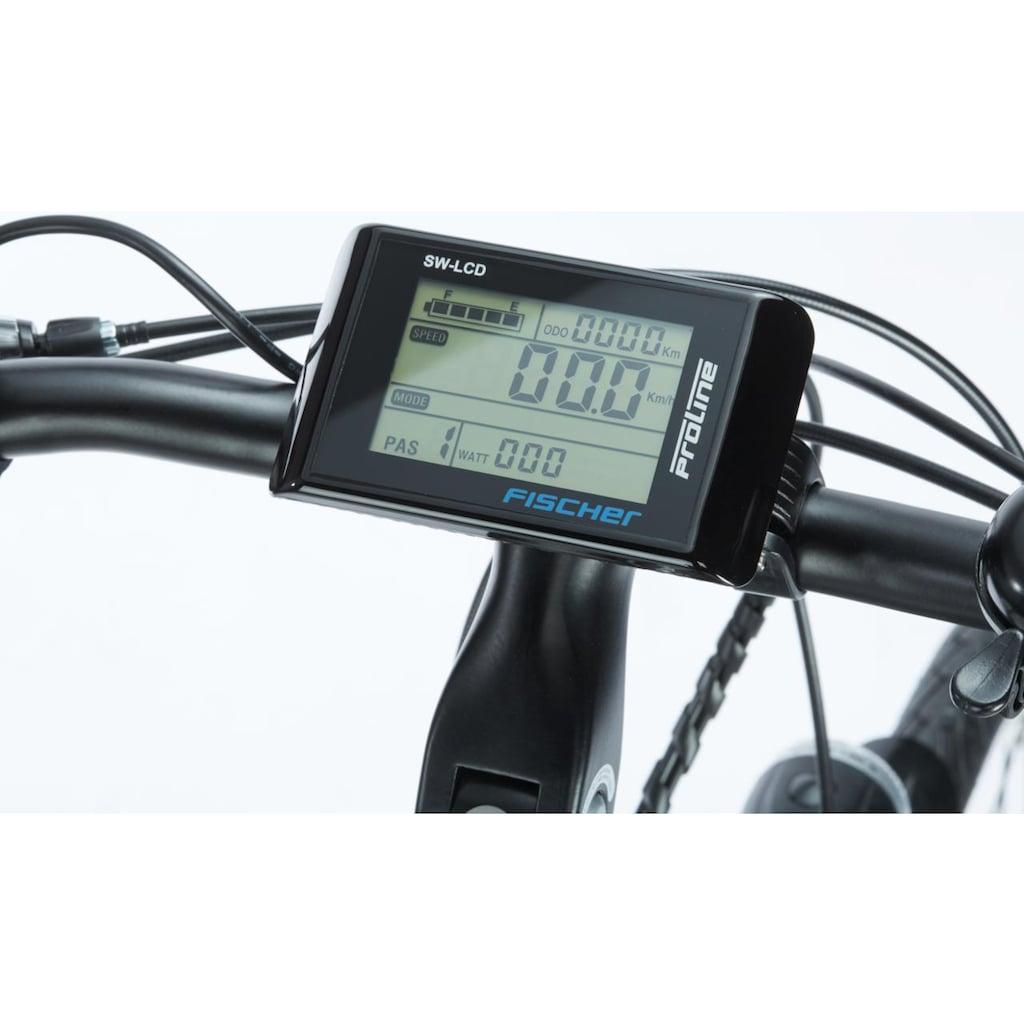 FISCHER Fahrräder E-Bike »ETH 1401«, 24 Gang, Shimano, Acera, Heckmotor 250 W