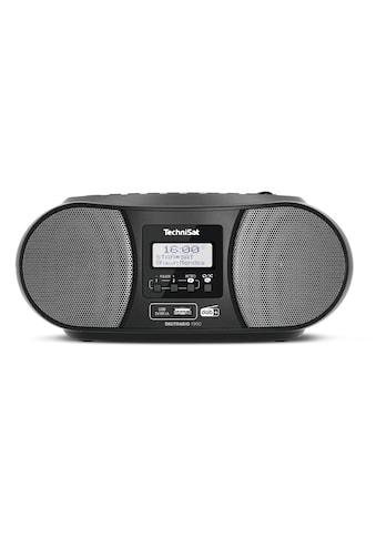 TechniSat Stereo-Boombox mit DAB+/UKW-Radio, CD-Player und Bluetooth kaufen
