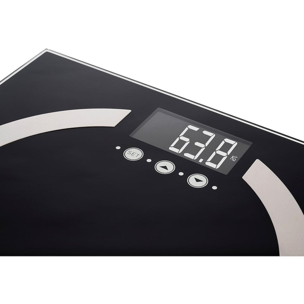 KORONA Körper-Analyse-Waage »Denise 73500«, mit BMI Funktion & Überlastungsanzeige