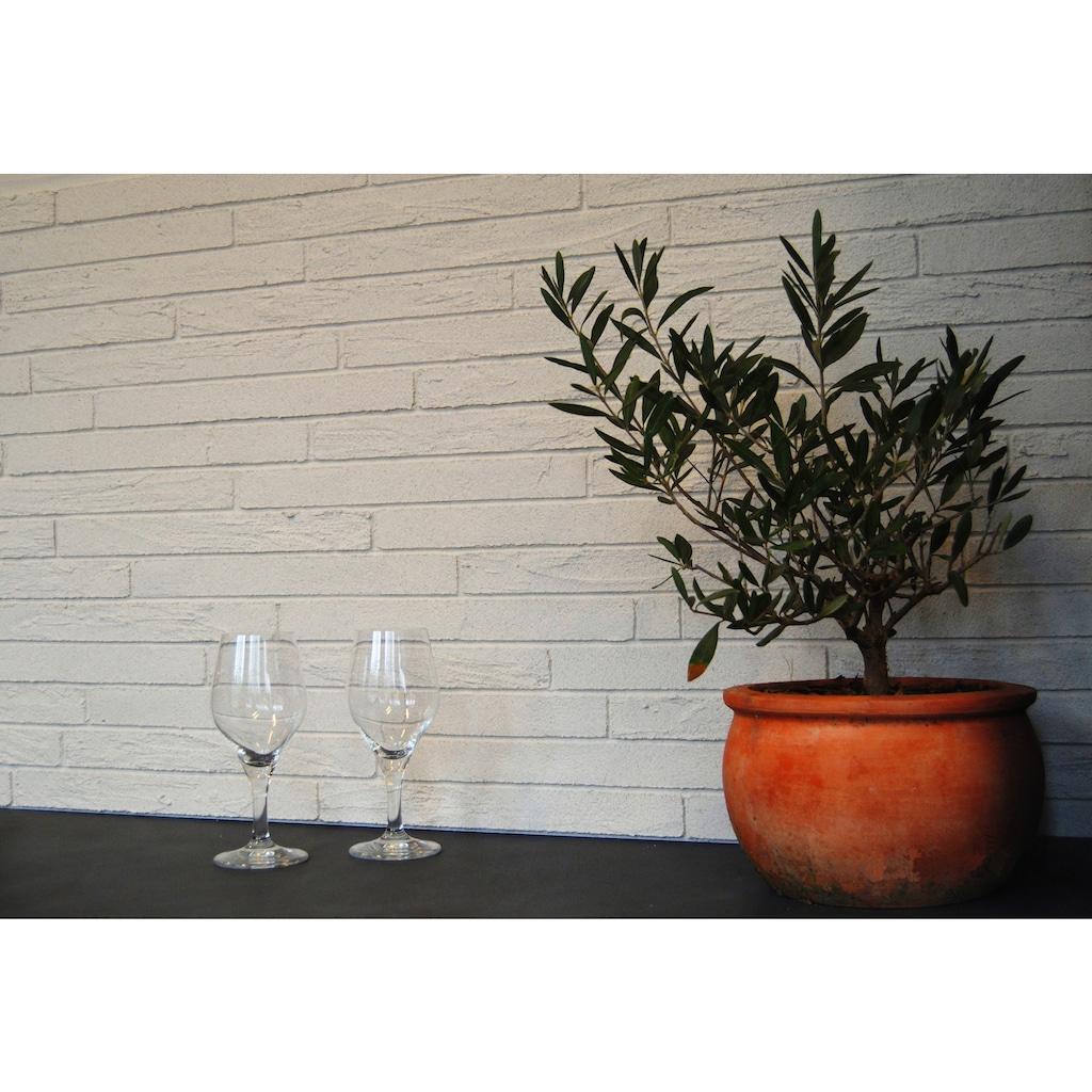 ELASTOLITH Verblender »Paris«, weiß, für Außen- und Innenbereich, 1 m²