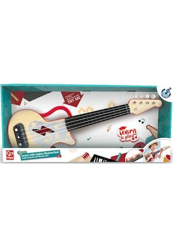 Hape Spielzeug-Musikinstrument »Elektrische Lern-Ukulele, rot« kaufen