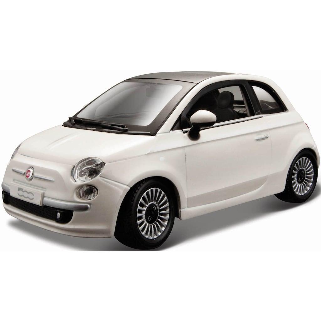 Bburago Sammlerauto »Fiat 500 (2007)«, 1:24