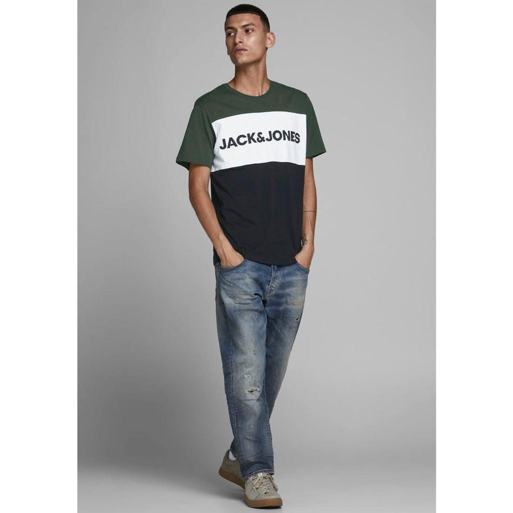 Jack & Jones T-Shirt »LOGO BLOCKIN«