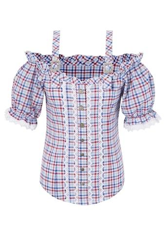 OS - Trachten Trachtenbluse Damen im Karo - Look kaufen