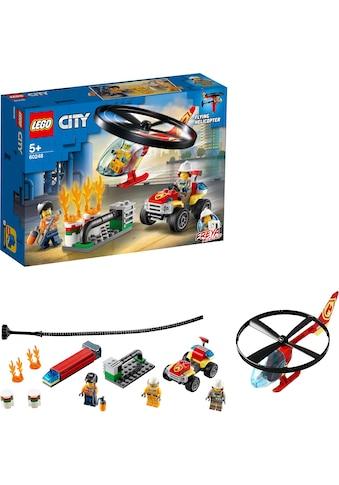 LEGO® Konstruktionsspielsteine »Einsatz mit dem Feuerwehrhubschrauber (60248), LEGO®... kaufen