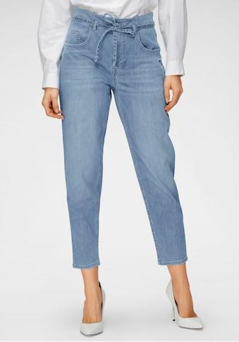 MAC Ankle-Jeans »Mina«, Mit separatem Jeans-Bindeband kaufen