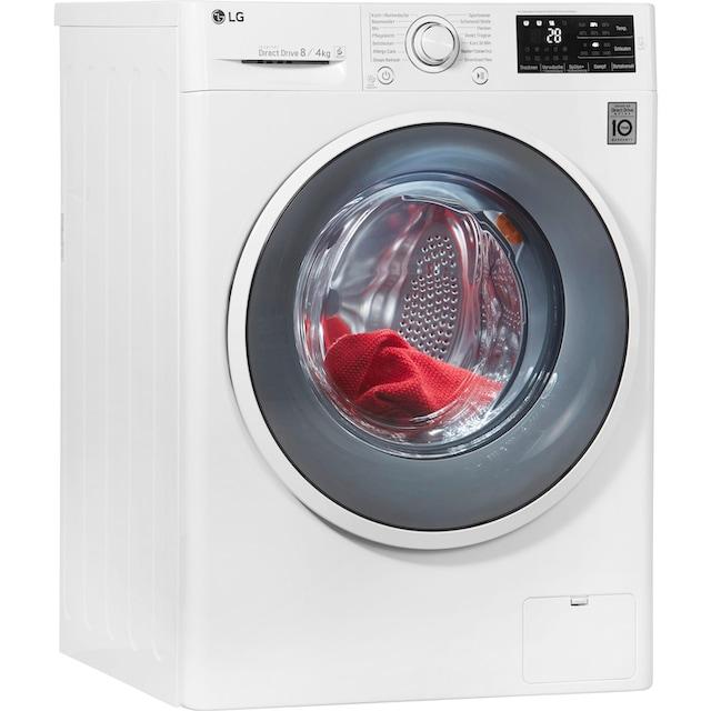 LG Waschtrockner F14WD84EN0, 8 kg / 4 kg, 1400 U/Min