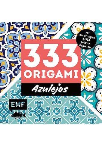Buch »333 Origami - Azulejos: Zauberhafte Muster, marokkanische Farbwelten / DIVERSE« kaufen
