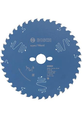 BOSCH Kreissägeblatt »Kreissägeblatt Expert for Wood«, 250 x 30 x 2,4 mm, 40 kaufen