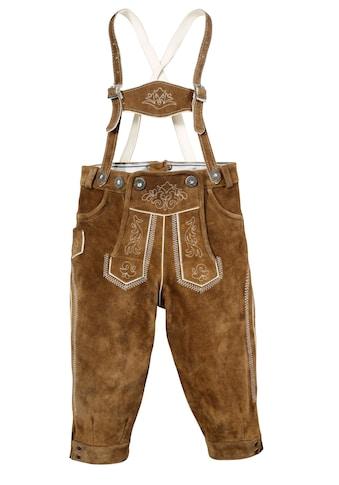 MarJo Trachtenlederhose, (2 tlg.), Kinder im Knickerbocker-Style kaufen