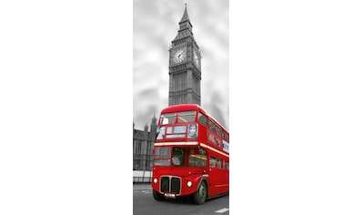 PAPERMOON Fototapete »London  -  Türtapete«, BlueBack, 2 Bahnen, 90 x 200 cm kaufen