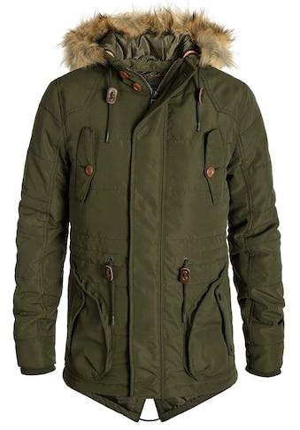 Blend Parka »Polygamma«, warme Jacke warm wattiert kaufen