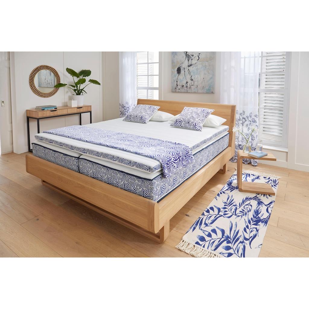 Guido Maria Kretschmer Home&Living Topper »Blue waves«, (1 St.), Topper der Extraklasse im trendigen Design, Made in Germany