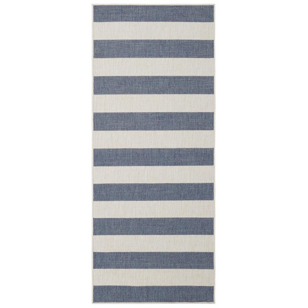 andas Läufer »Alan«, rechteckig, 5 mm Höhe, In- und Outdoor geeignet, Wendeteppich