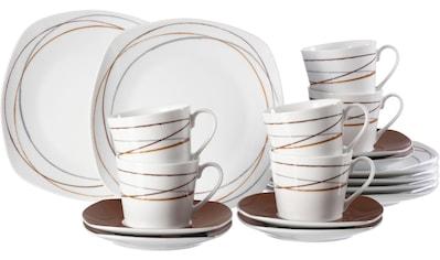 Ritzenhoff & Breker Kaffeeservice »Alina Circle«, (Set, 18 tlg.), mit Linien-Dekor kaufen
