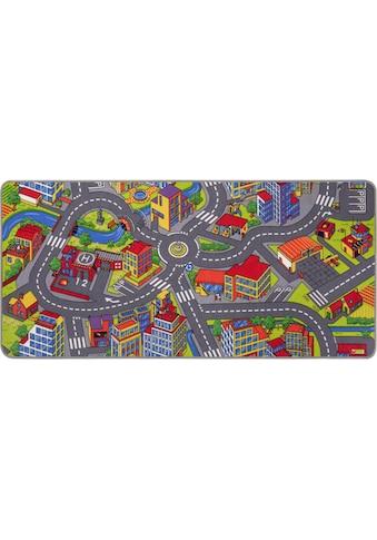 Kinderteppich, »Straße«, Andiamo, rechteckig, Höhe 5 mm, maschinell getuftet kaufen