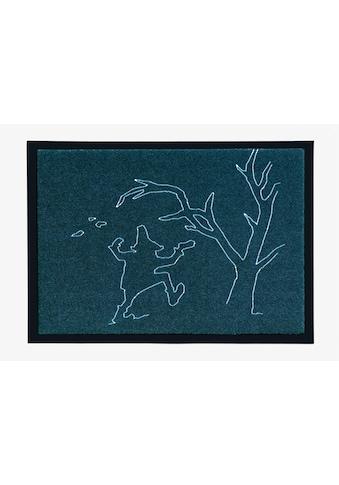 Fußmatte, »Märchen 4«, grimmliis, rechteckig, Höhe 2 mm, maschinell gewebt kaufen