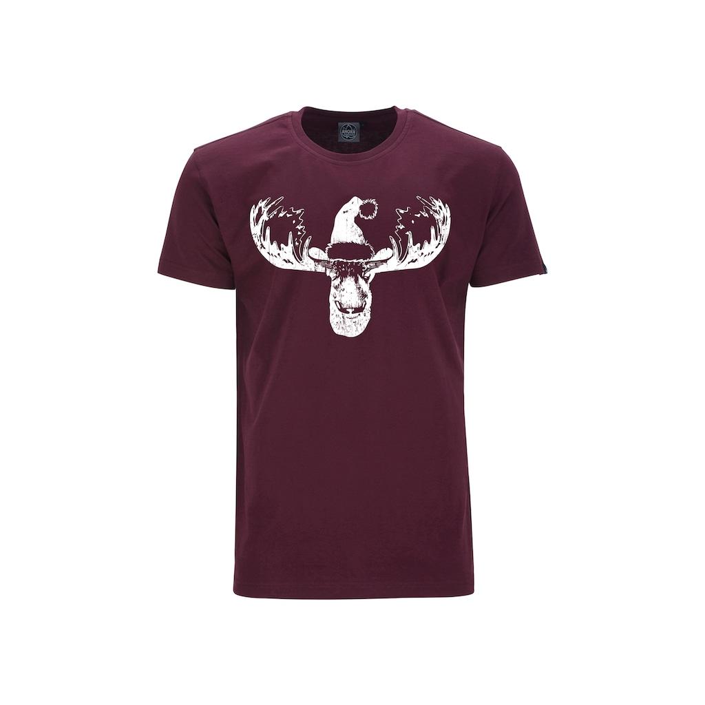 AHORN SPORTSWEAR T-Shirt mit Rundhals-Ausschnitt